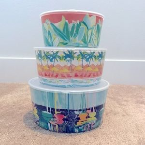 Brand new Anthropologie Food Storage Containers